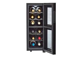 Wine Cabinet With Cooler by Lacks Haier Freestanding Wine Cooler With 12 Bottle Capacity