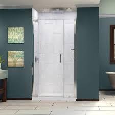39 Shower Door Dreamline Elegance 39 To 41 In Frameless Pivot Shower Door