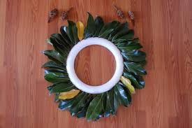 decor how to make a fresh magnolia wreath diy with wreath