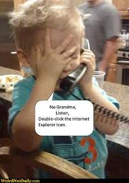 Baby On Phone Meme - funny pictures weirdnutdaily grandma needs computer lessons