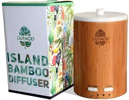 amazon com dufmod 150ml real bamboo wood diffuser for essential