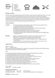 Cook Resume Samples by Culinary Resume Templates Culinary Resume Templates Entry Level