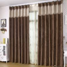 Brown Blackout Curtains Modern Brown Curtains Contemporary Blackout And Sound Absorption