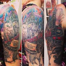 the hogwarts express harry potter tattoos hogwarts and harry