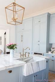 Kitchen Cabinets Color by The Color Of The Kitchen Cabinets Is A Mix Of Baby Blue And Green