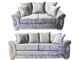 3 Seater 2 Seater Sofa Set Colorado Glitz 3 Seater U0026 2 Seater Pillow Back Sofa Set U2013 Kc Sofas