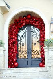 front doors brilliant decoration christmas front door