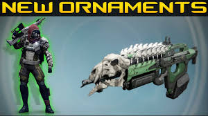 destiny new weapon ornaments the last word