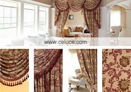 Curtains Valances And Swags Rosy Valance Curtains With Swags And Tails By Celuce