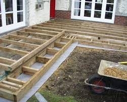 types of deck sub frame for garden decking q deck
