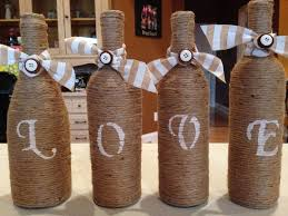 wine bottle centerpieces 9 easy diy wine bottle centerpieces mywedstyle