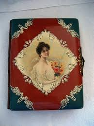 Victorian Photo Album Victorian Celluloid Photo Album Antique Portrait Albums