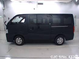 nissan caravan high roof 2013 nissan caravan black for sale stock no 63269 japanese