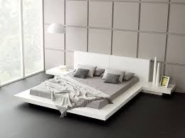 furniture minimalist white bedroom furniture with black bed