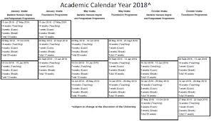 Kalender 2018 Hari Raya Puasa Universiti Tunku Abdul Rahman