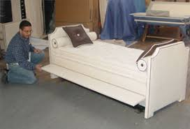 White Daybed With Pop Up Trundle Upholstered Daybed With Pop Up Trundle Heartland Aviation 12