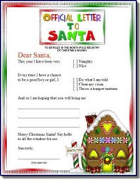 official letters from santa letter to santa kits official pole mail personalized