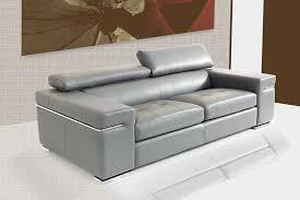 canapé cuir canapé en cuir gris fabriqué en italie sofamobili