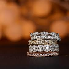 Stacked Wedding Rings by 66 Best Vintage Rings Images On Pinterest Jewelry Rings And