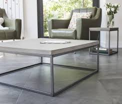 Minimalist Coffee Table by Concrete And Steel Coffee Table Minimalist Design Perspective
