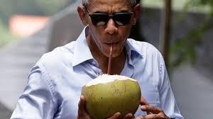 Best Obama Meme - obama drinking a coconut best presidential meme ever what s