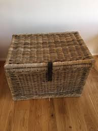 ikea large wicker storage box in winchester hampshire gumtree