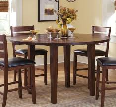 dining table terrific small dining room design with black leather