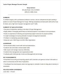 Program Manager Resume Samples Free Manager Resume Templates 40 Free Word Pdf Documents