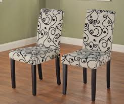 Fabric For Dining Room Chairs Dining Room Lovely Parson Chairs For Dining Room Fearsome Dining