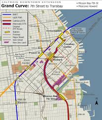 Bart Stations Map by Uncrooking San Francisco U0027s Crookedest Tunnel