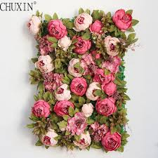 peony flowers luxury silk peony flower wall and vine artificial flowers