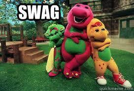 Barney Meme - and friends