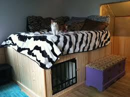 Dog Bedroom Ideas by Bed With Built In Dog Bed Nana U0027s Workshop