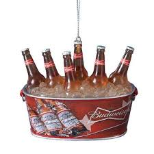 buy kurt adler budweiser bottles in tub