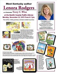Barnes And Noble Elizabethtown Ky News Events Lenora Rodgers Books