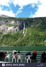 Ex Machina Waterfall Geiranger Waterfall Stock Photos U0026 Geiranger Waterfall Stock