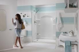 Sterling Bathtub Installation Caulk Free Click Into Place Showers Handy Man