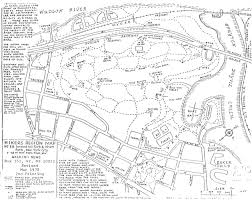 Tilden Park Map Hiking East Of Hudson River Table Of Contents