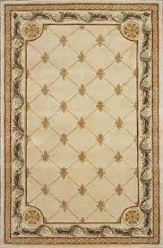 kas jewel antique ivory fleur de lis rug kas rugs jew0310