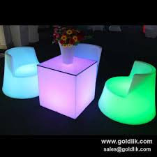 light up cubes 19 best led cube chair and table images on cubes