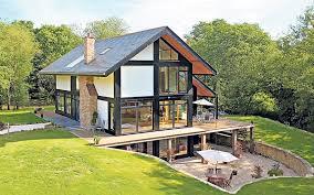 Modern Home Design Uk Compact Modern House Design Home Improvement Ideas