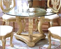 Traditional Round Dining Table Beautiful Traditional Glass Dining
