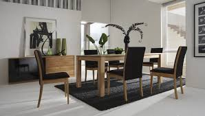 tropical dining room furniture furnitures tropical dining room decoration with glossy black