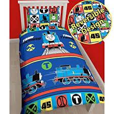 Thomas The Train Twin Comforter Set Amazon Com Thomas The Tank Engine Team Single Us Twin Duvet Cover