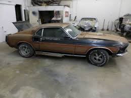 1969 Mustang Black 1969 Mustang Mach One Raven Black 351 4v Sport Deck Rear Seat