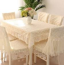 Online Shopping For Dining Table Cover Buy Generic Lace Round Square Tablecloth Chair Cover Cushions