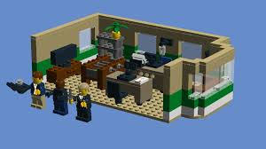 lego ideas psych office and blueberry