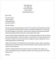 nursing cover letters tutornow info