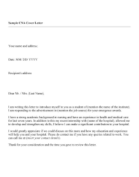 cna cover letter example sample resume for endoscopy nurse nurse