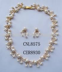 pearls necklace sets images Gold jewelry sets elegant pearl necklace sets inexpensive necklace jpg